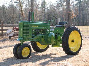 Tractor Stories – 1950 John Deere A
