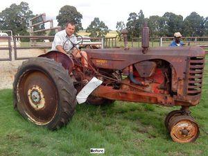 Tractor Stories – 1946 Massey Harris 44K