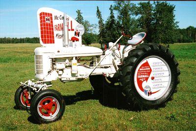 farmall c demonstrator serial numbers